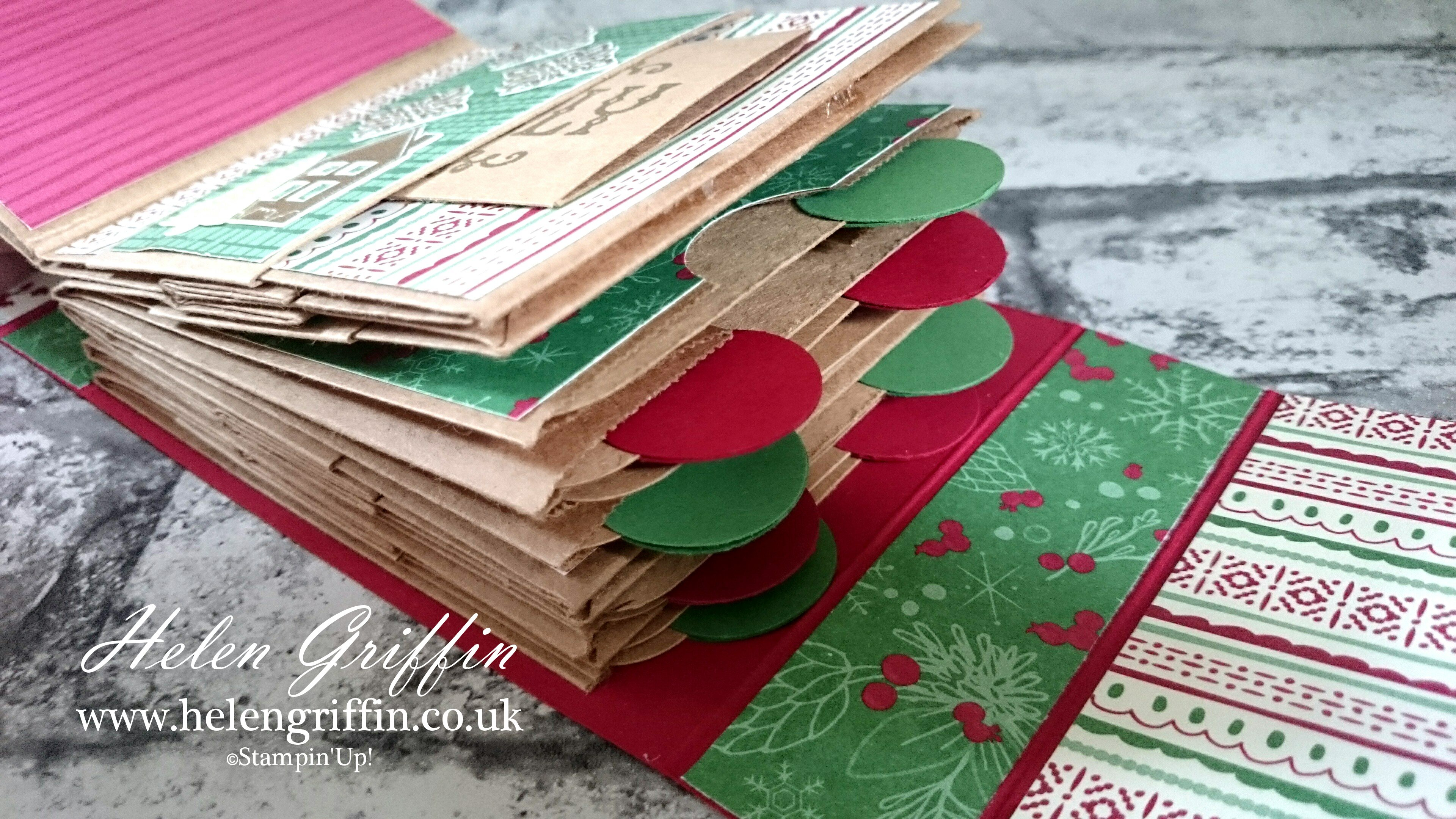 Stampin Up! Christmas In July 2016 Christmas Mini Paperbag Album ...