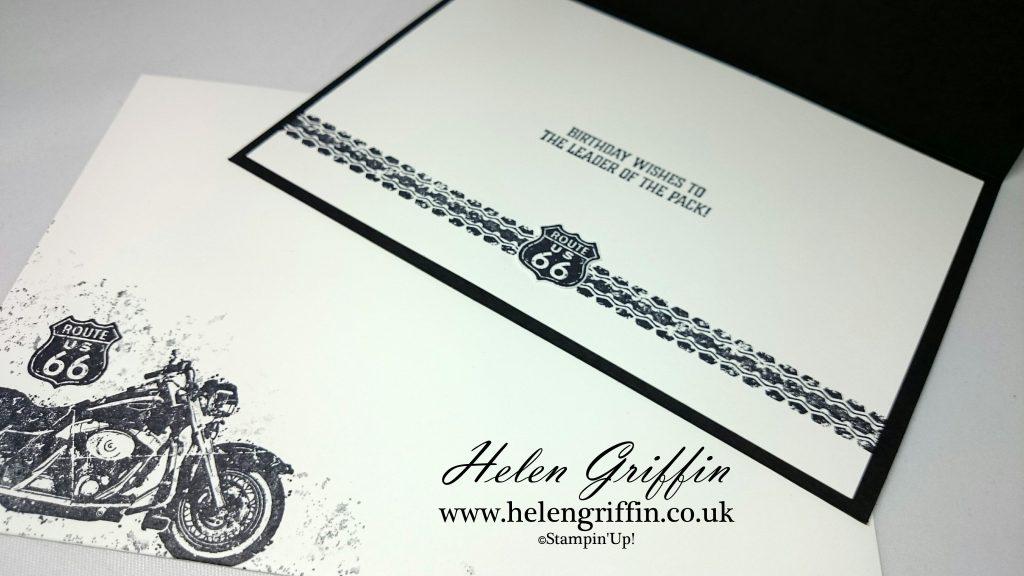 Motorbike Birthday Card With One Wild Ride Helen Griffin – Motorbike Birthday Cards