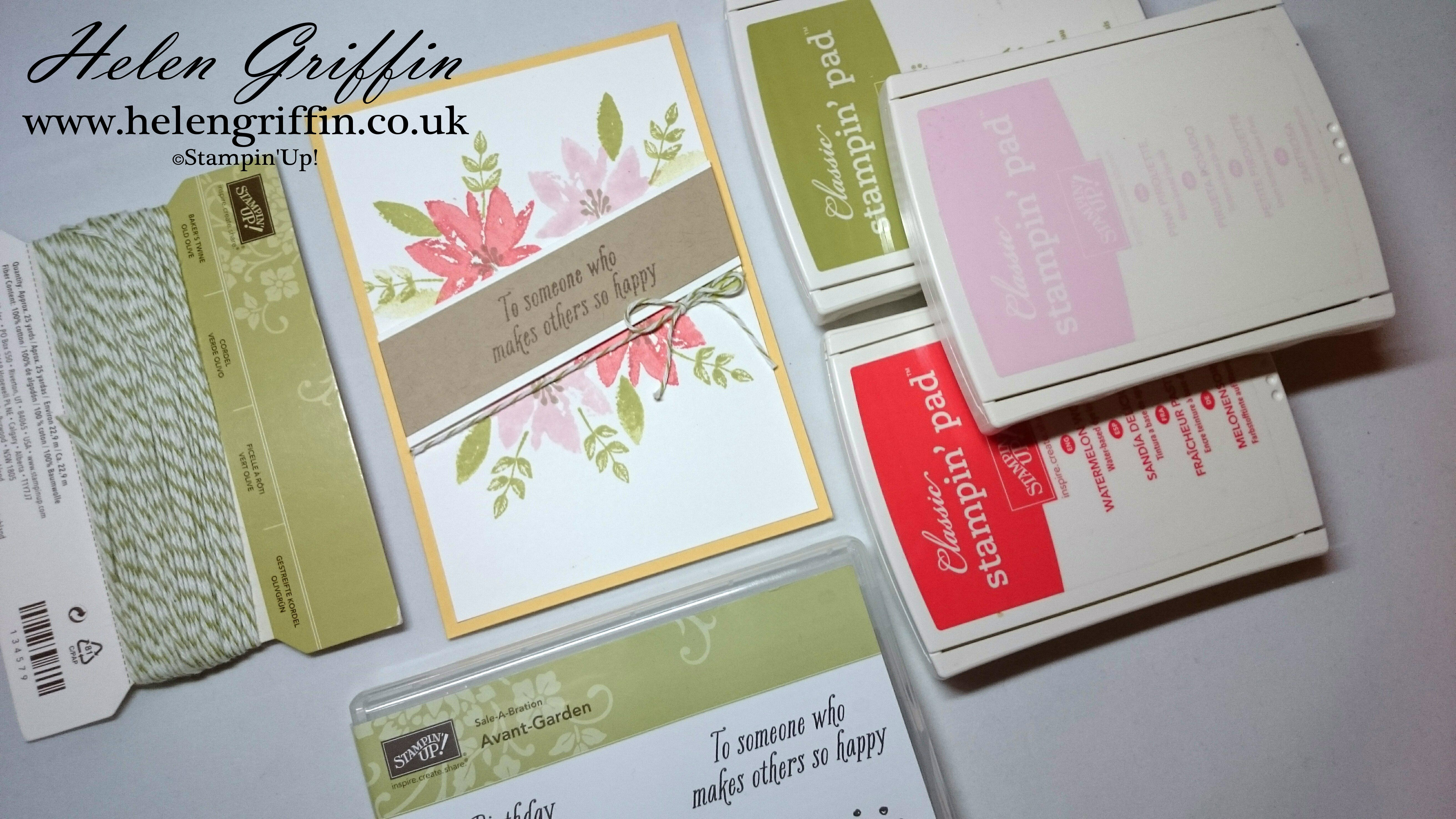 Tutorial Card From Sale A Bration Brochure Using Free