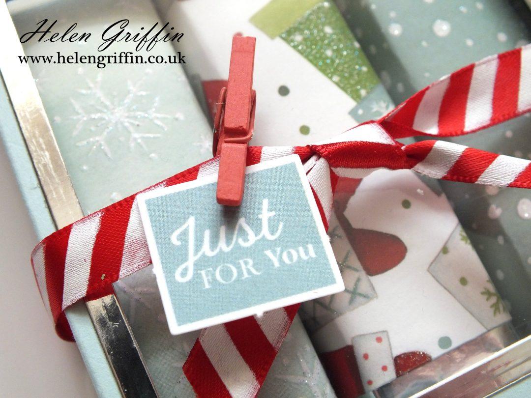 Chocolate Bar Gift Boxes : Th day of christmas chocolate bar gift box with