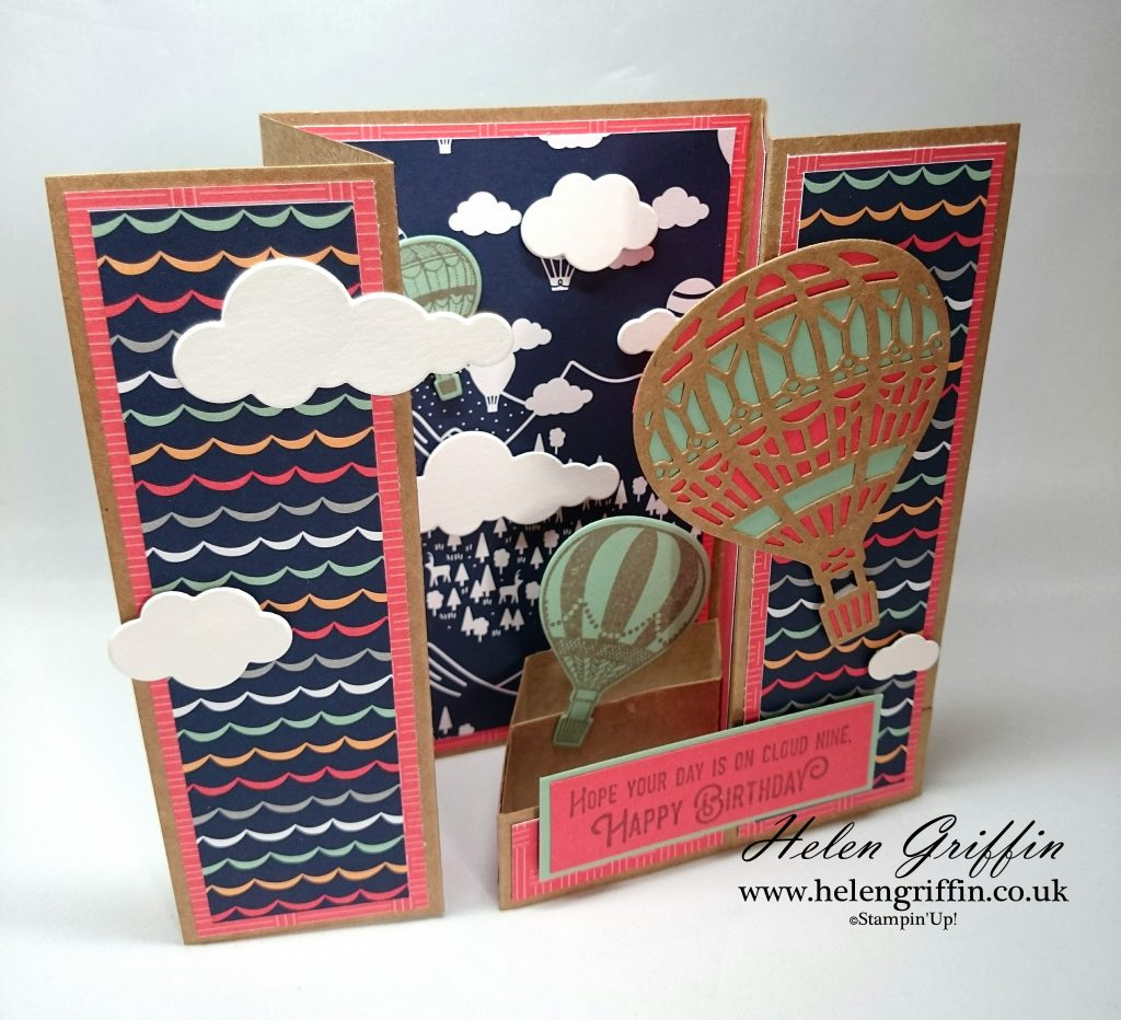 Helen Griffin Uk Stampin'Up! Lift Me Up Gatefold Card 2
