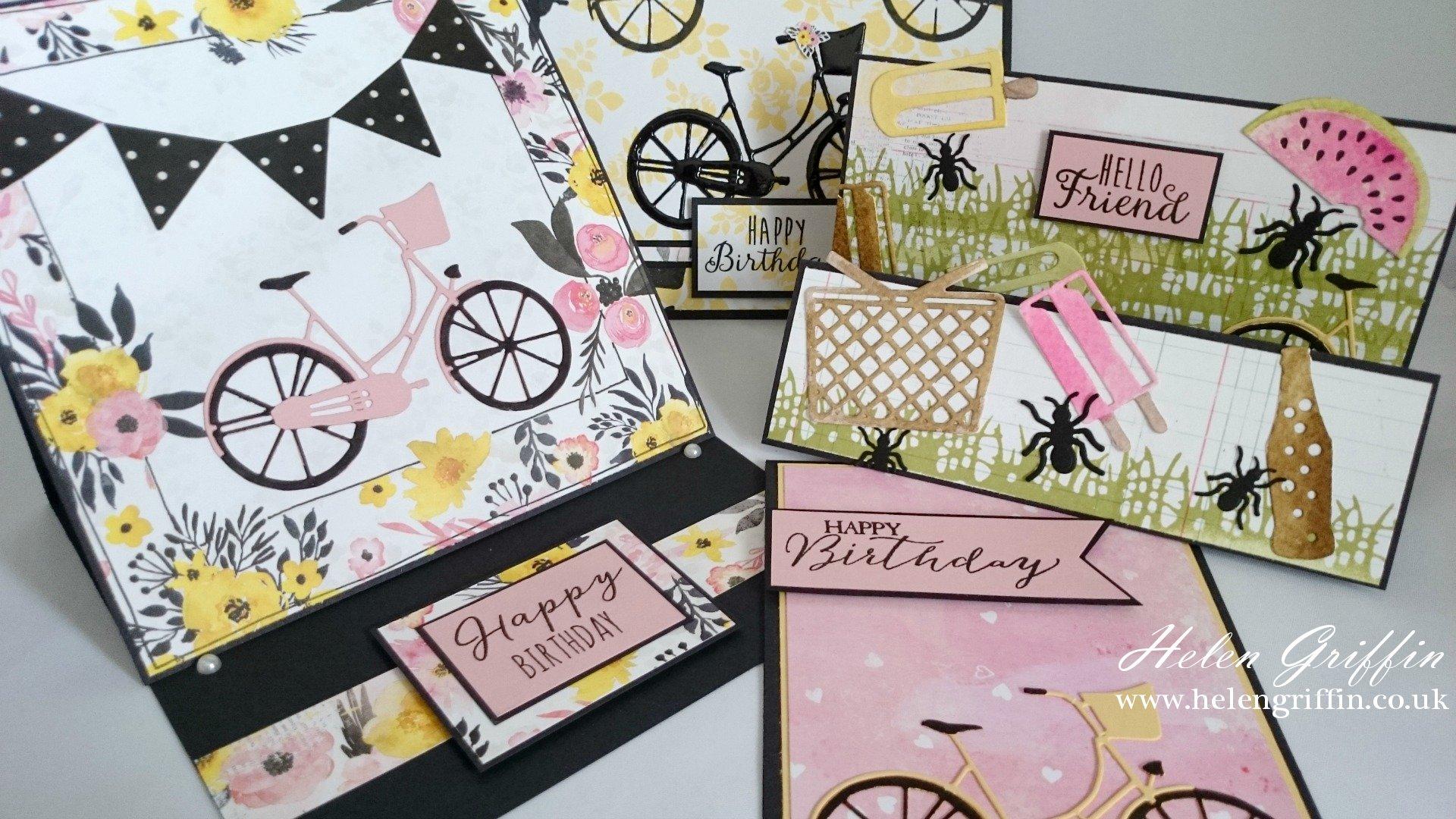 BoBunny Petal Lane Collection & Dies | Card Ideas & Scrapbook Page ...