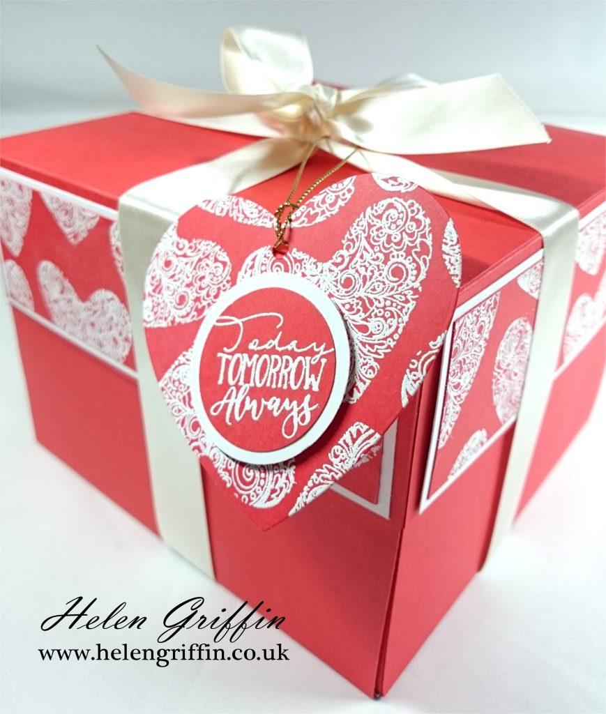 Tutorial valentines day giant ferrero rocher gift box helen griffin thank solutioingenieria Gallery