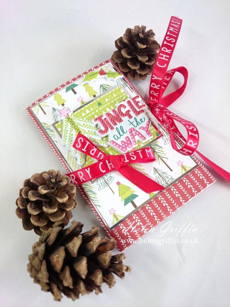 #christmasinjuly #minialbum #tutorial #beginnerfriendly #easy #christmas