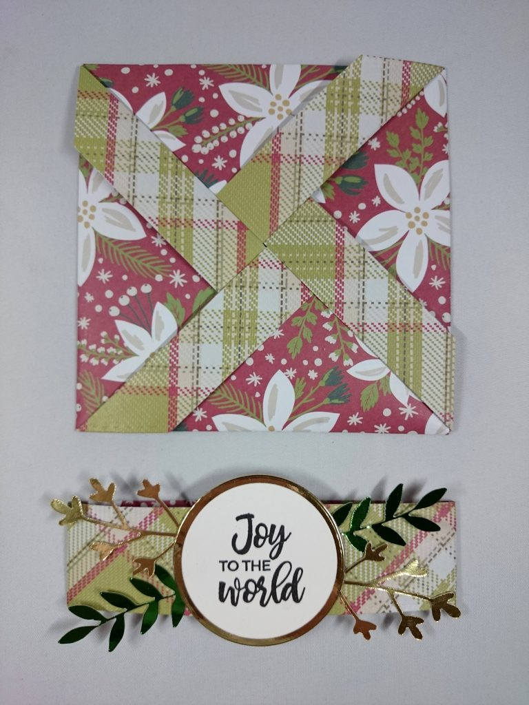 Simply Made Crafts by Helen Griffin Pinwheel Die Card