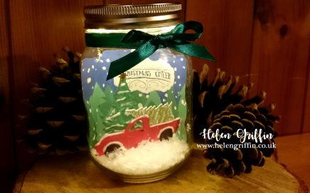 Helen Griffin UK Day1 DIY Light Up Mason Jar Christmas Decoration Thumbnail