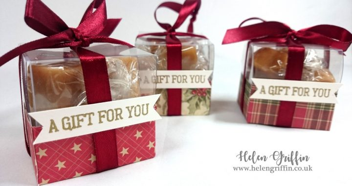 Helen Griffin UK Day 4 Faux Acetate Treat Box