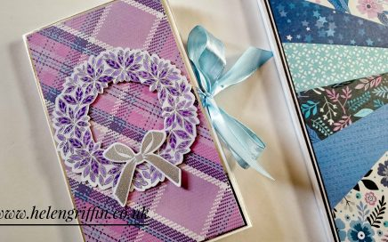 11th Day of Christmas 2018 Helen Griffin uk paper bag mini album 1