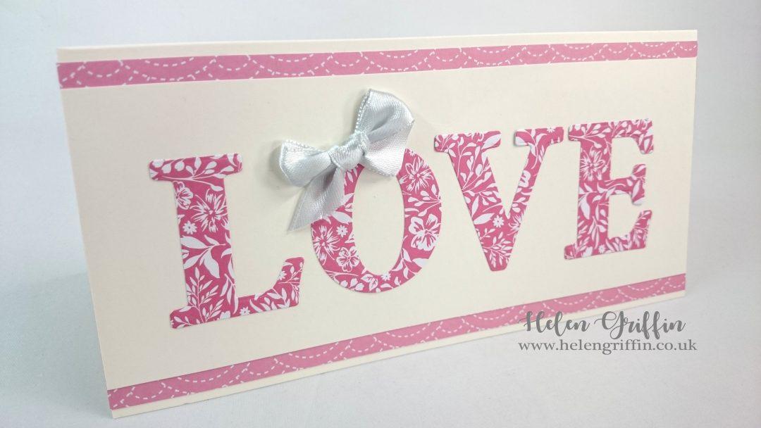 Helen Griffin UK Valentine's Day Love Card