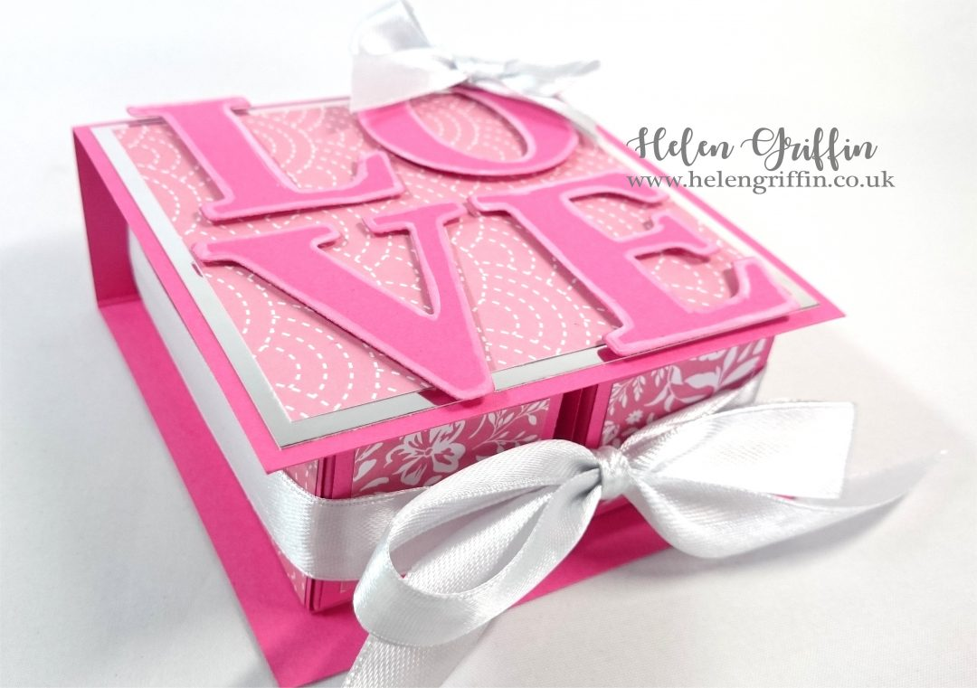 Helen Griffin UK Valentine's Day Matchbox book 1