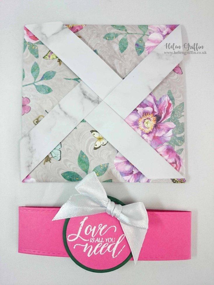 Helen Griffin UK Valentine's Day Pinwheel Card 2