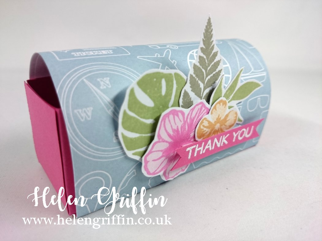 Helen Griffin UK Tropical Thank you Postbox Die