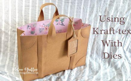 Helen Griffin UK Kraft tex Luggage Gift Bag thumbnail