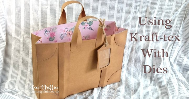 Helen Griffin UK Kraft tex Luggage Gift Bag thumbnail