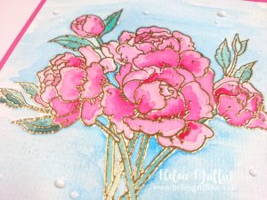 Helen Griffin UK Peony Blooms Card 2