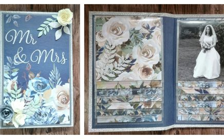Helen Griffin UK Waterfall Folio Mini Album