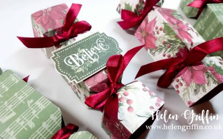 Helen Griffin UK Christmas in July Day 1 Mini Cracker