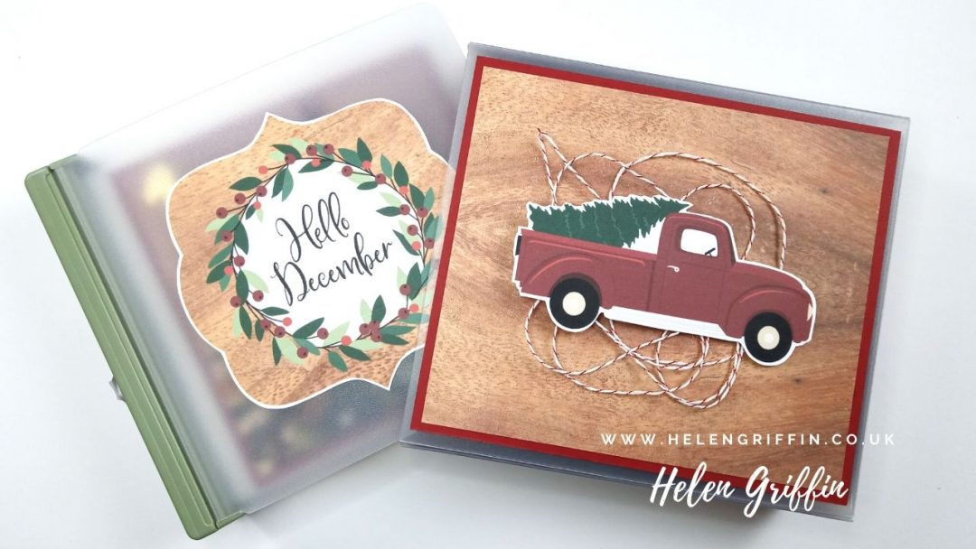 Christmas in July 2020 Mini album with cover Helen Griffin
