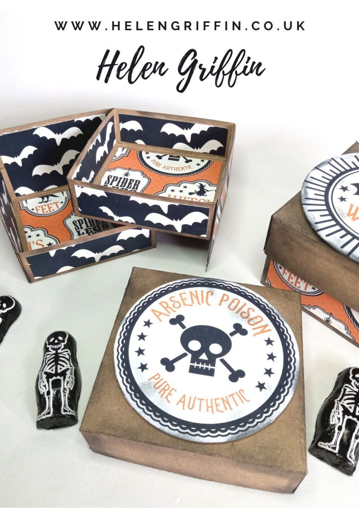 Helen Griffin UK Halloween Swing Tray Gift Box